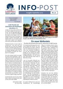 Löwenherz-Infopost Ausgabe 70, September 2017