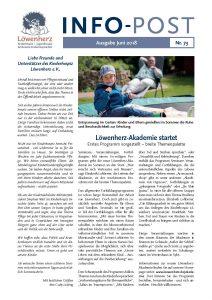 Löwenherz-Infopost Ausgabe 73, Juni 2018