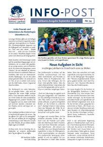 Löwenherz-Infopost Ausgabe 74, September 2018