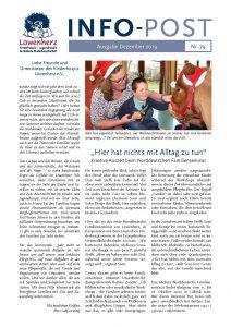 Löwenherz-Infopost Ausgabe 79, Dezember 2019