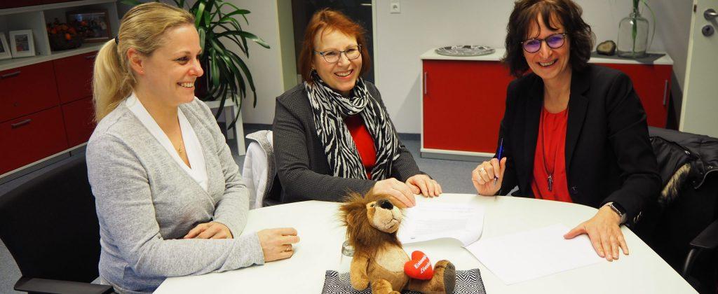 Die Integrierte Gesamtschule Lilienthal und das Kinderhospiz Löwenherz haben eine Kooperationsvereinbarung abgeschlossen.