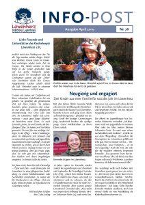 Löwenherz-Infopost Ausgabe 76, April 2019